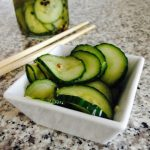 Easy Pickled Cucumber